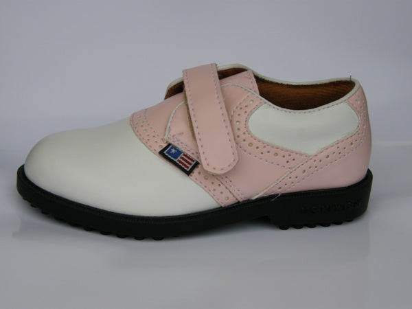 US Kids Golf Girls Golf Shoes with Velcro
