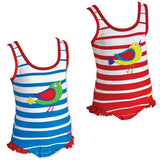 Zoggs Kids Girls Nelly Bay Scoopback Swimsuit - FREE Delivery