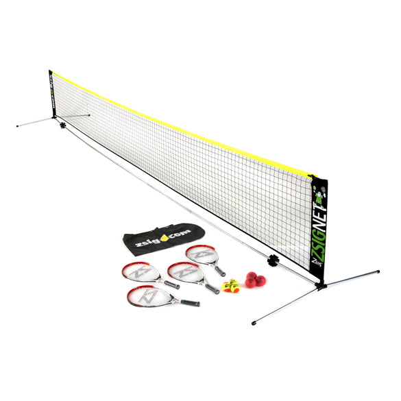 Zsig Mini Tennis Garden Set (6m) - Free Delivery