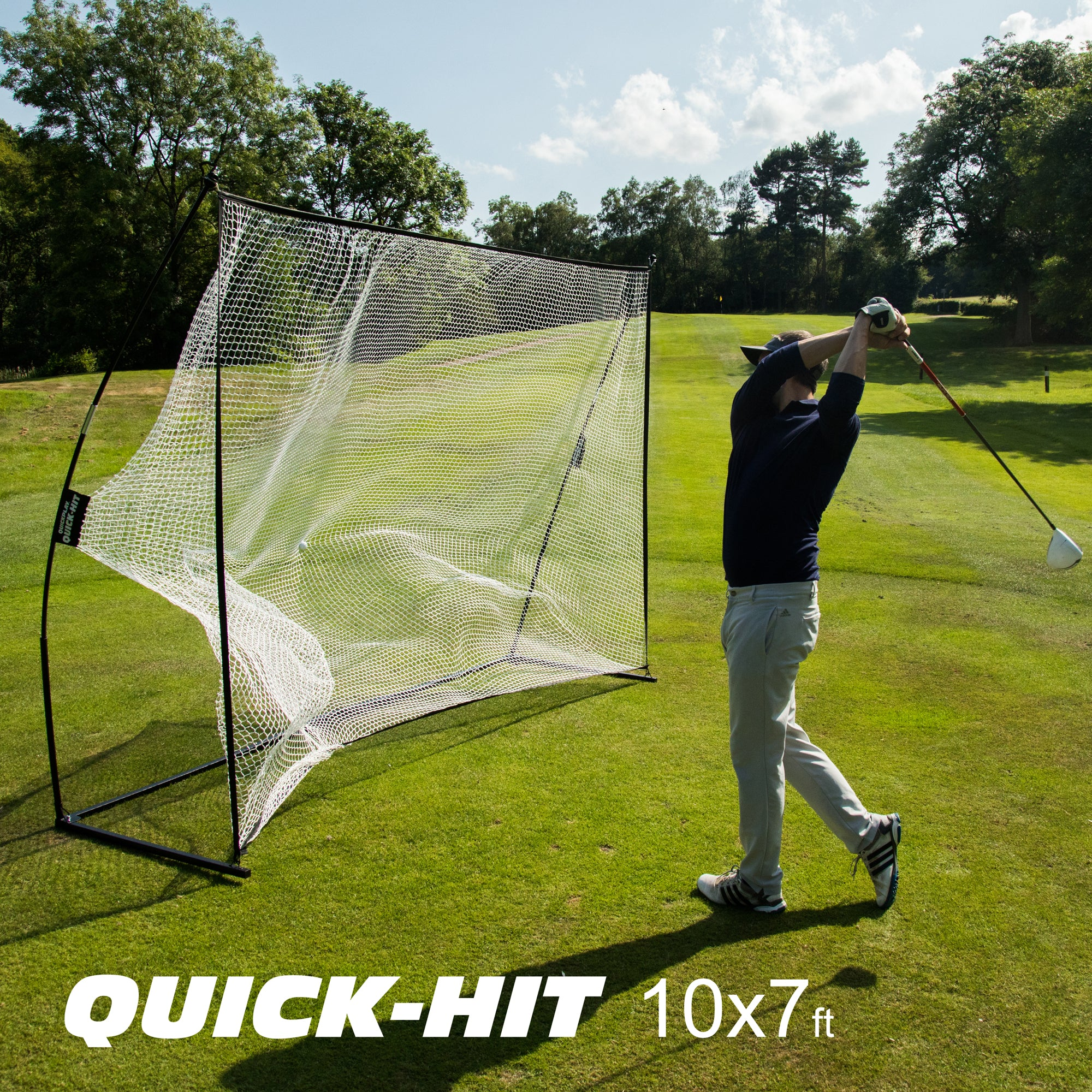 Quick Hit 10 x 7 hitting net