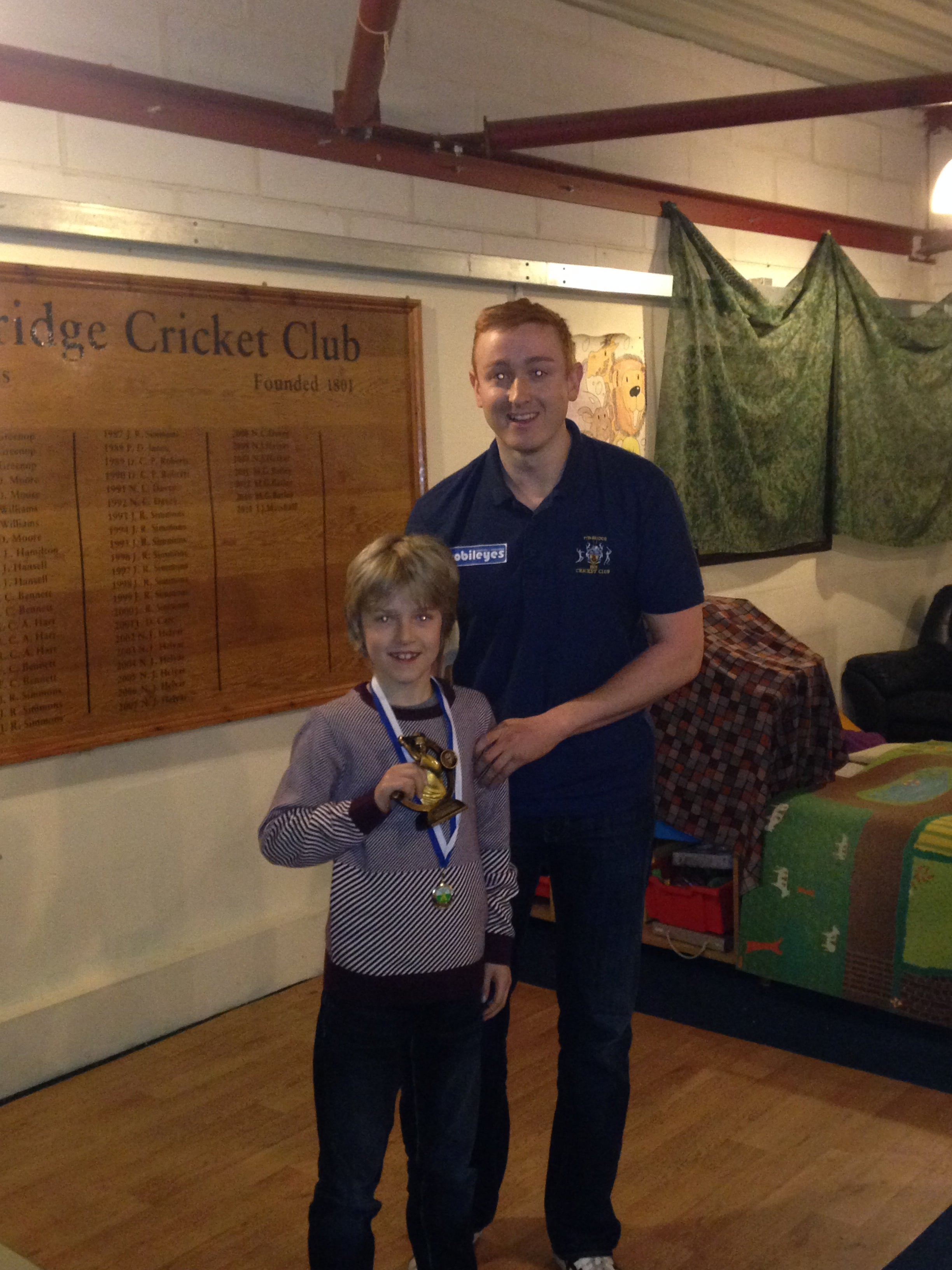 Tonbridge cricket club best bowling figures 2014