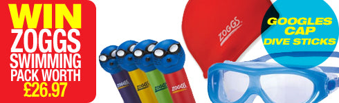 Win a Zoggs Swimming pack