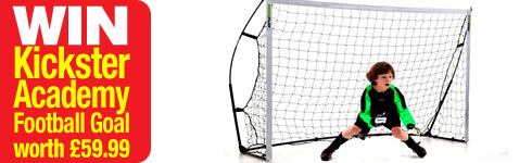 Win a Kickster Academy Football Goal
