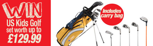 Win a US Kids Golf set worth up to £129.99.