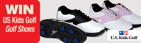 Win US Kids Golf Shoes worth up to £30.99