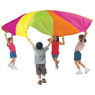 Kids Get Active with Parachute