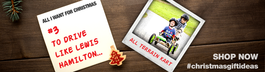 All I want for Christmas is a All Terrain go kart