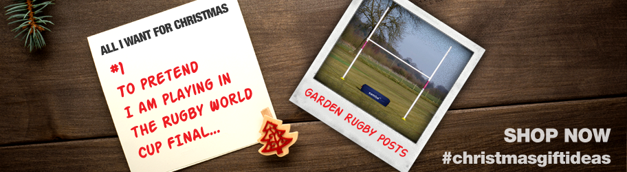 All I want for Christmas is garden rugby posts