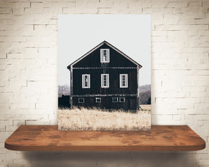 Black Barn Photograph