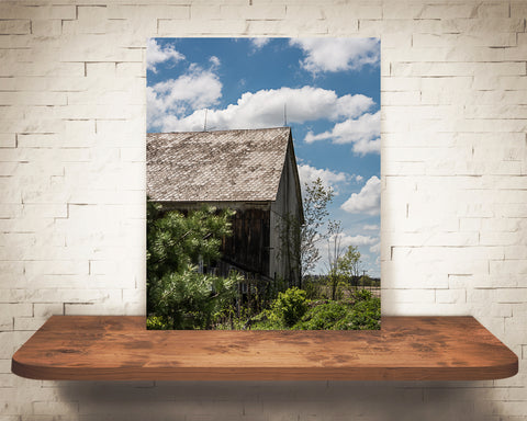Cloud Barn Photograph