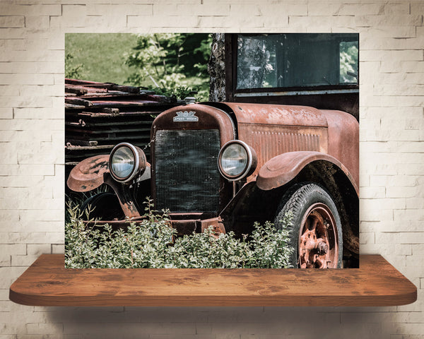 Antique Car Photograph