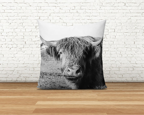 Scottish Highland Pillow Cover