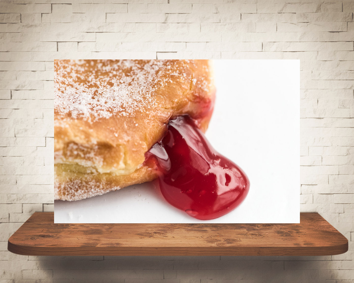 Jelly Donut Photograph