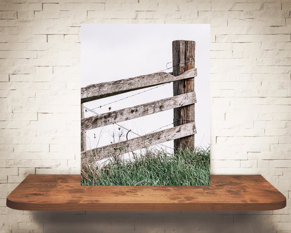 Wood Fence Photograph