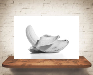 Banana Photograph Black White