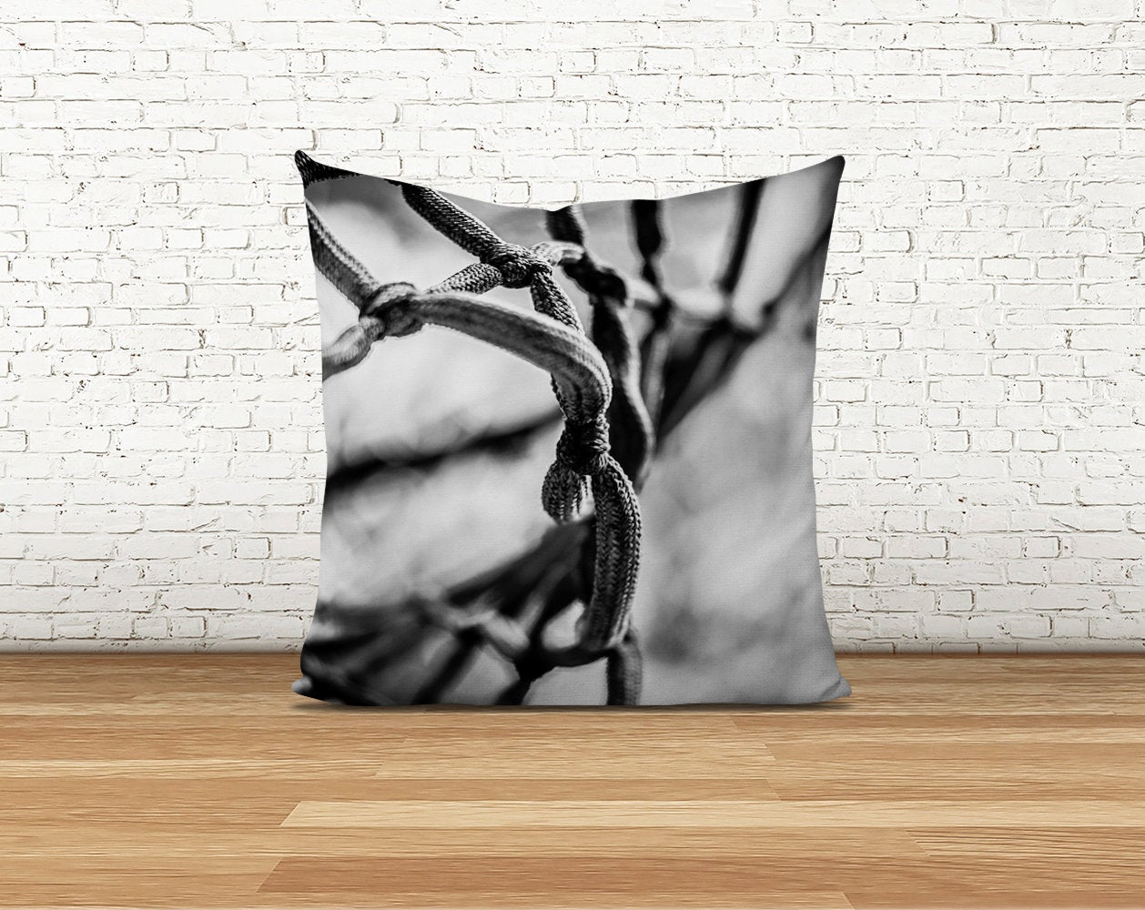 Basketball Net Pillow Cover