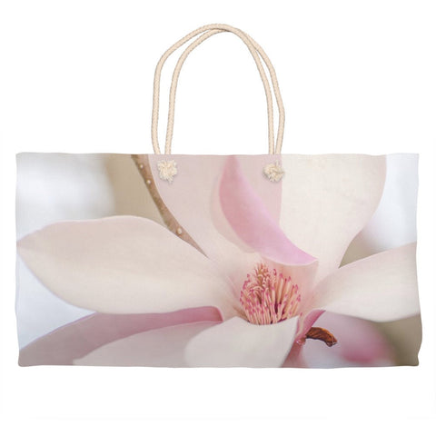 Magnolia Flower Market Tote Bag - Weekender Bag