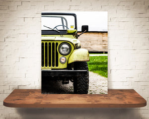 Old Jeep Photograph