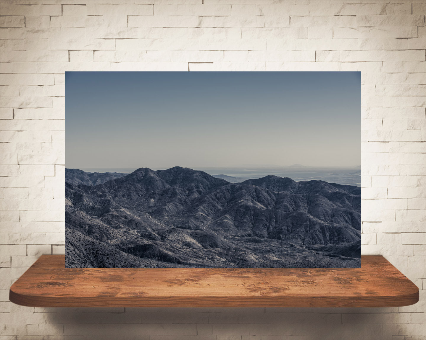 Desert Mountain Landscape Photograph