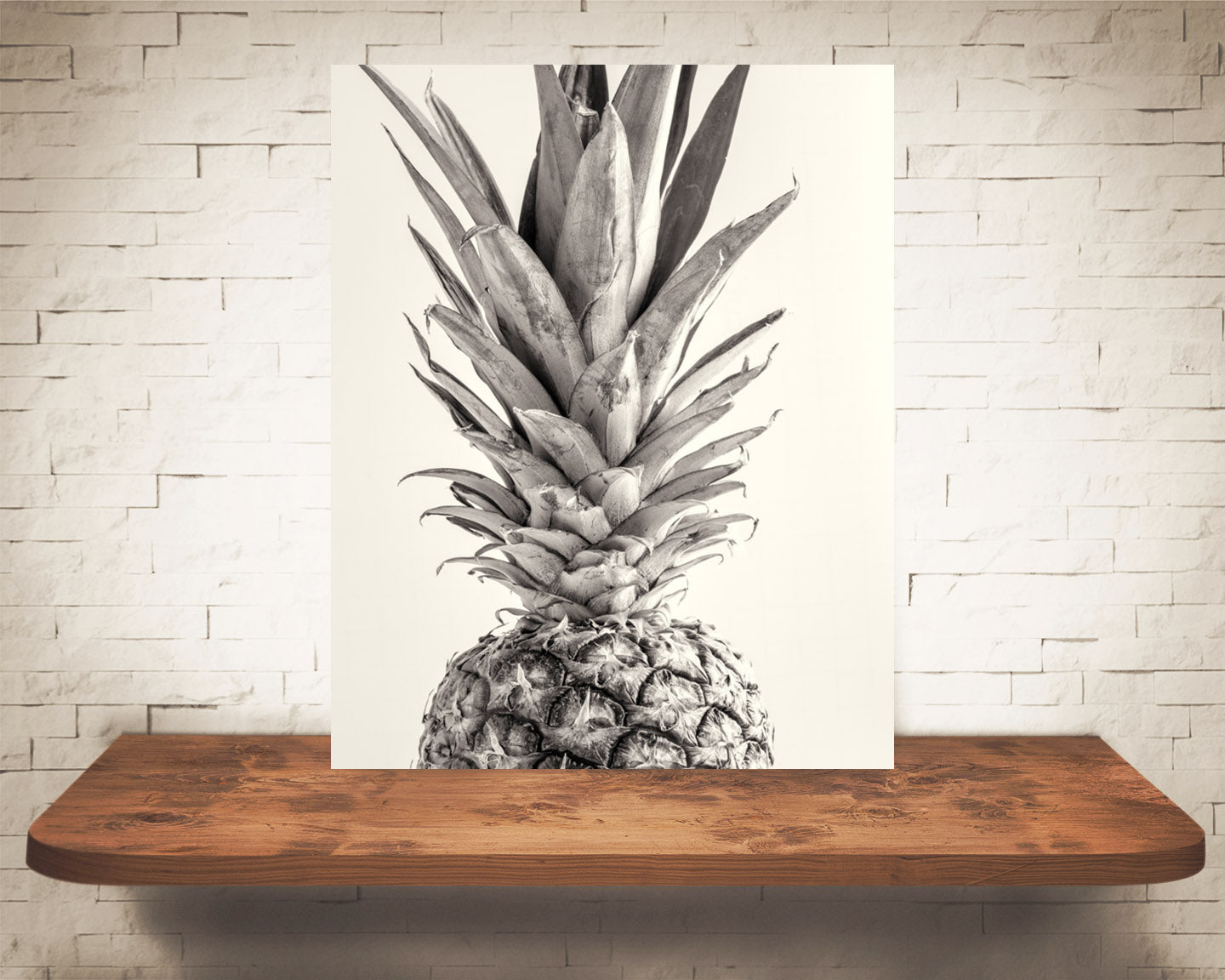 Pineapple Photograph Sepia