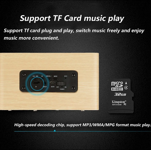 TF Card SD Card Support