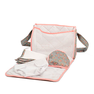 NURSERY BAG, DELUXE GREY