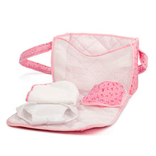 Laden Sie das Bild in den Galerie-Viewer, NURSERY BAG, PINK