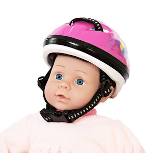 HELMET FOR DOLLS, PINK