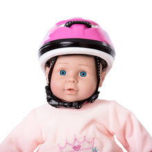 Laden Sie das Bild in den Galerie-Viewer, HELMET FOR DOLLS, PINK