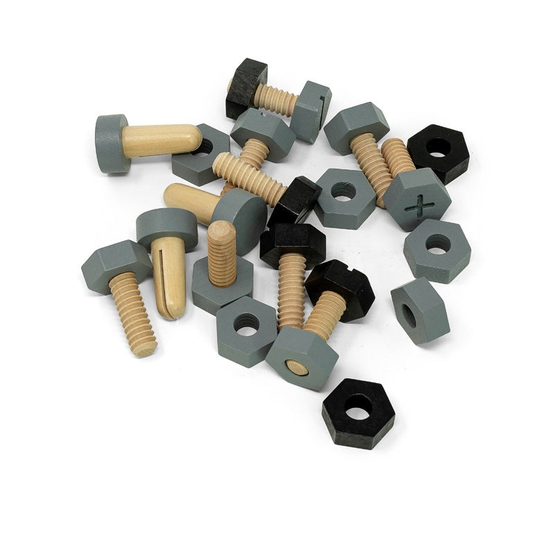 SCREWS, NUTS AND BOLTS, WOOD