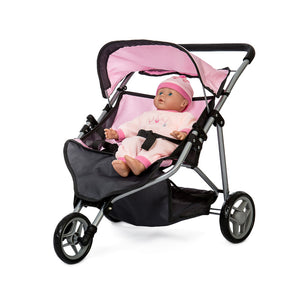 DOLL TWIN BUGGY