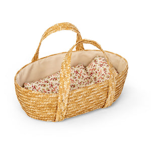 MOSES BASKET W/BED SET, 35 CM.
