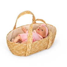 Laden Sie das Bild in den Galerie-Viewer, MOSES BASKET W/BED SET, 35 CM.