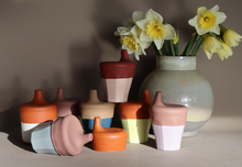Laden Sie das Bild in den Galerie-Viewer, Sippy Lids Canyon Clay & Vintage Blossom - Set