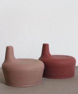 Sippy Lids Canyon Clay & Vintage Blossom - Set