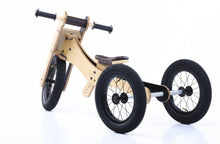 Laden Sie das Bild in den Galerie-Viewer, Trybike Wood 4 in 1 Bike Braun