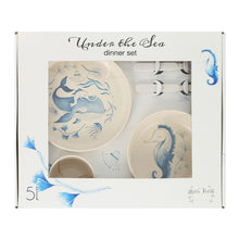 Laden Sie das Bild in den Galerie-Viewer, Under The Sea - Cream & Water Colour - Geschirr