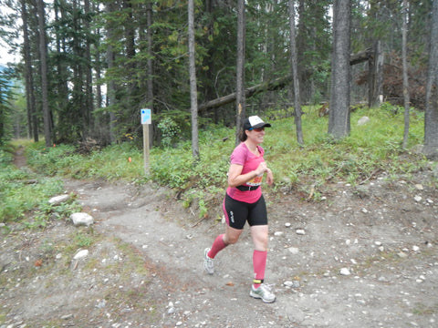A fun day running at the XTERRA Canmore