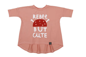 Kukukid Rebel Top - Pink