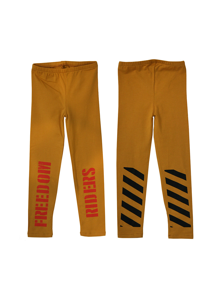 BANDY BUTTON Freedom Riders Leggings