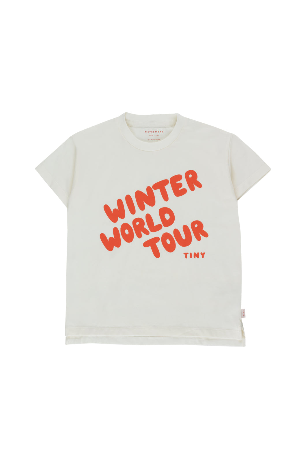 "Tiny Cottons ""WINTER WORLD TOUR"" TEE"