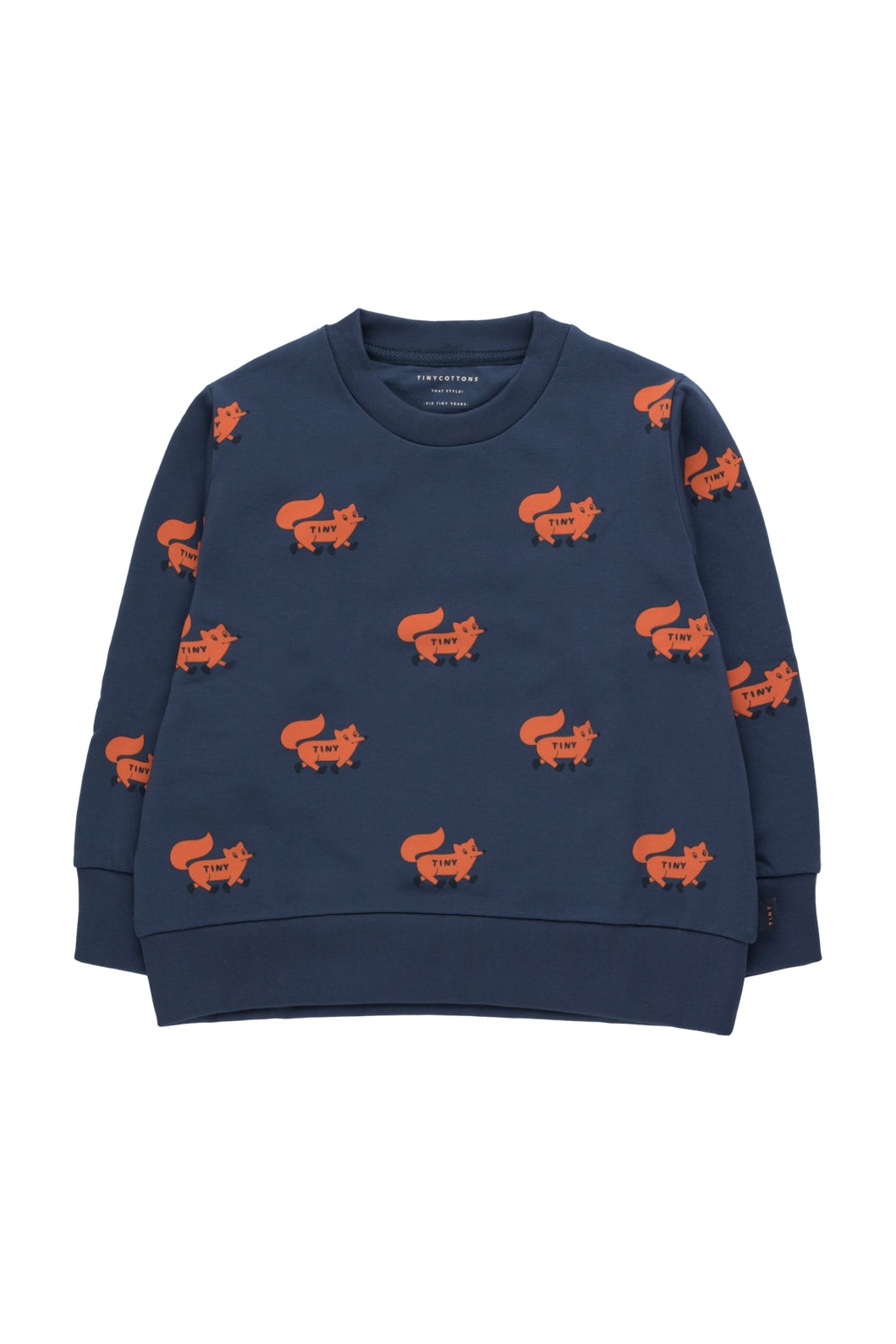 "Tiny Cottons ""FOXES"" SWEATSHIRT"