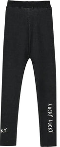 Beau Loves Black Love You Love Me Knitted Pants
