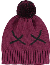Load image into Gallery viewer, Beau Loves Fuschia Chunky Knit Hat