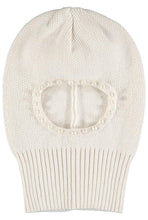 Load image into Gallery viewer, Beau Loves Natural Knit Pearl Balaclava