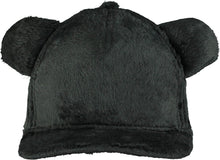 Load image into Gallery viewer, Beau Loves Charcoal Teddy Fur Cap