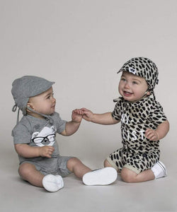 Huxbaby Leopard Summer Hat