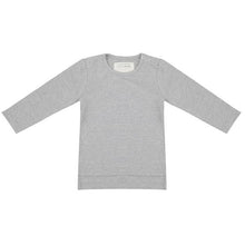 Load image into Gallery viewer, LITTLE INDIANS LONGSLEEVE GREY MELANGE