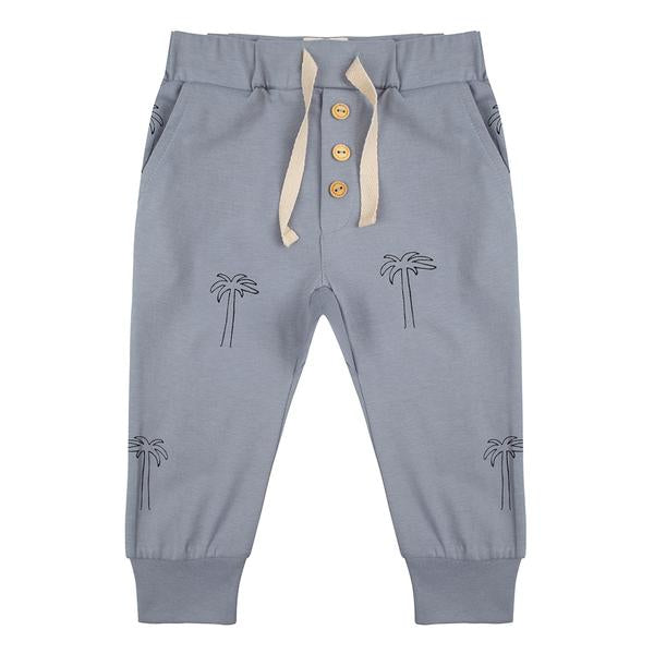 LITTLE INDIANS Pants Palmtrees - MINT
