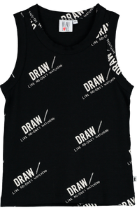 Beau Loves Relaxed Fit Draw Vest